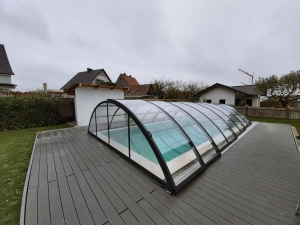 Universe Dark Line M3 CL Pool Cover